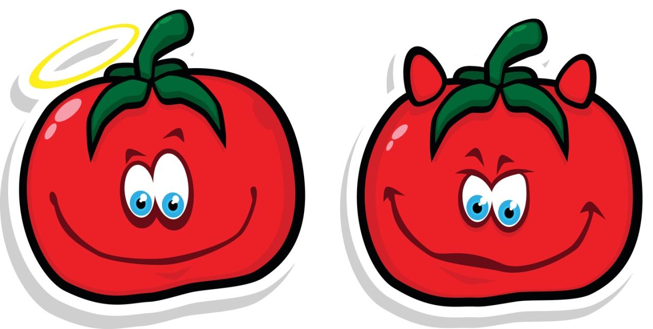 Good & Evil Tomato